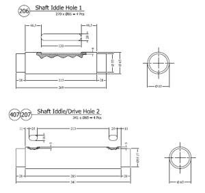 part shaft