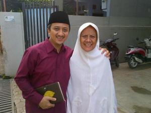 Ust Yusuf Mansyur & Almarhumah Ibu