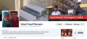 Facebook Ust. Yusuf mansur
